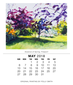2018 Calendar-May with photo